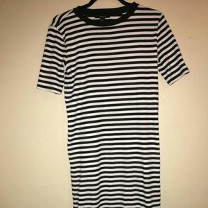 Midi stripped dress